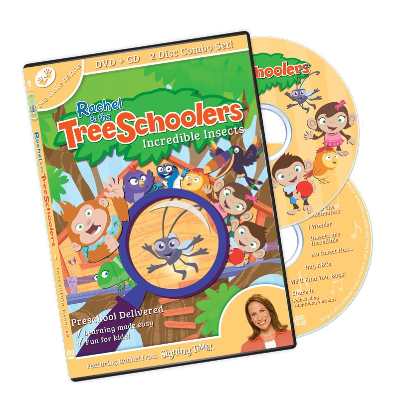 TreeSchoolers 3: Incredible Insects DVD/CD