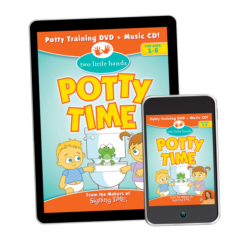 Potty Time Video - Digital Download - 4118