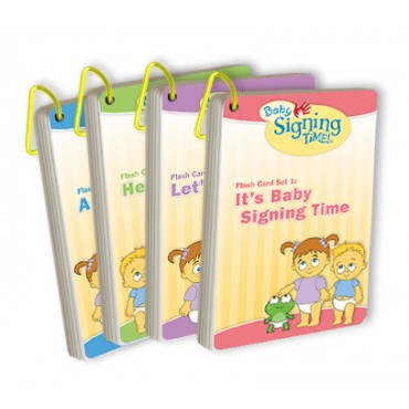 Baby Signing Time Flash Card Set 1-4