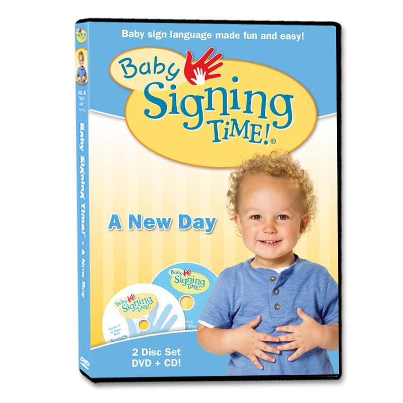 Baby Signing Time 3: A New Day - DVD/CD - 823860003390