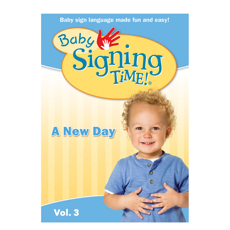 Baby Signing Time 3: A New Day (Digital, DVD) - BST3-Master