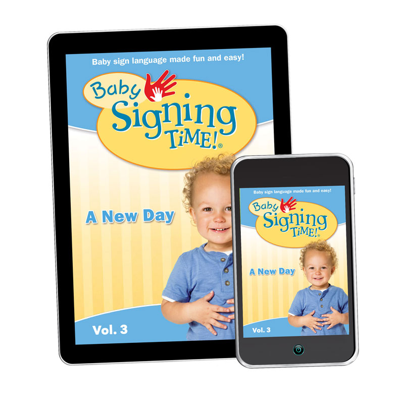 Baby Signing Time 3: A New Day - Digital Download - 1789