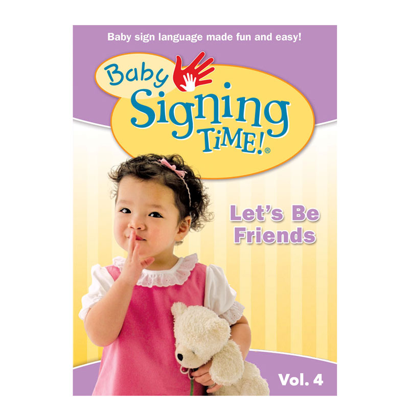 Baby Signing Time 4: Let's Be Friends (Digital, DVD)