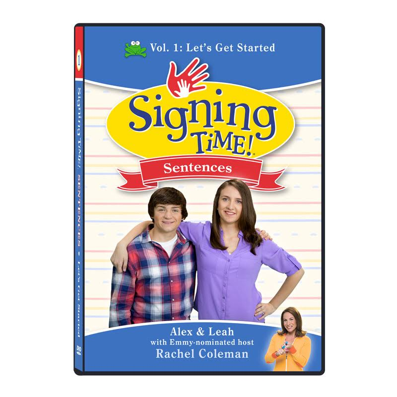 Signing Time Sentences: Vol. 1 - Let's Get Started DVD