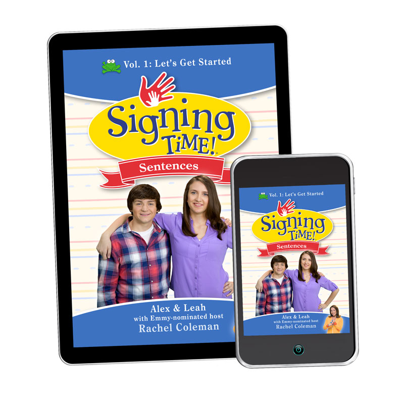 Signing Time Sentences 1: Let's Get Started - Digital