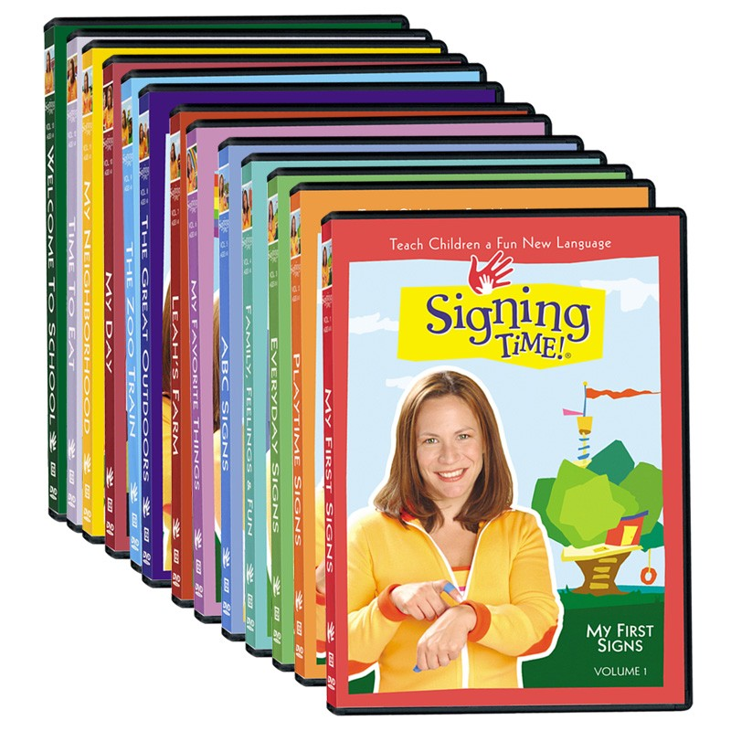 Signing Time Series One DVD Library Collection