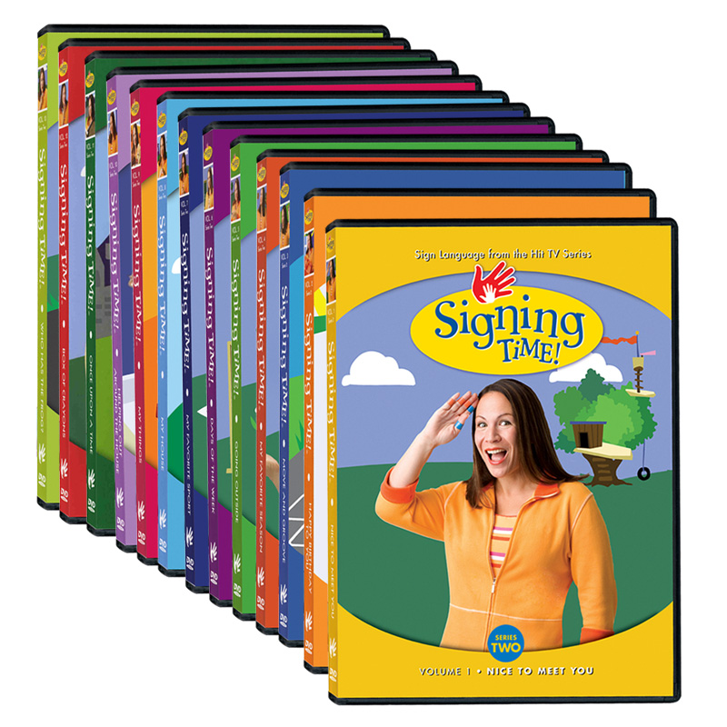 Signing Time Series Two DVD Library Collection