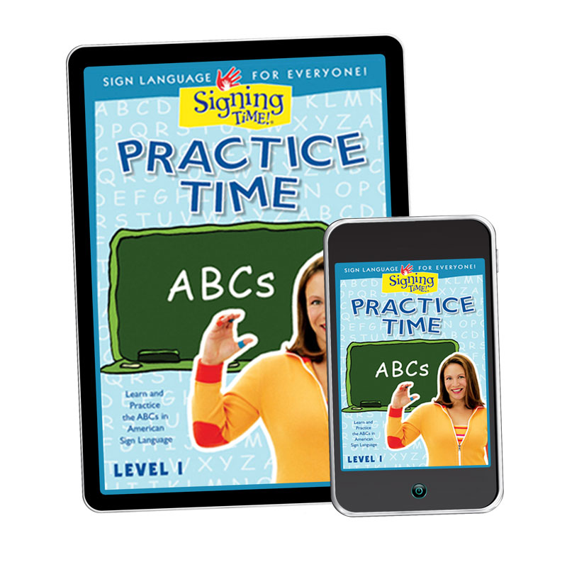 Practice Time ABCs Video - Digital