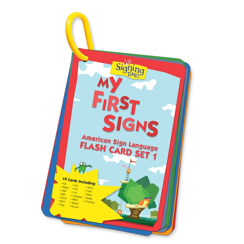 Flash Card Set 1: My First Signs