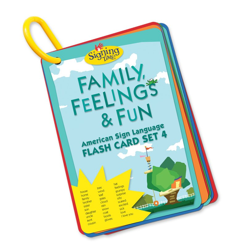 Flash Card Set 4: Family, Feelings and Fun