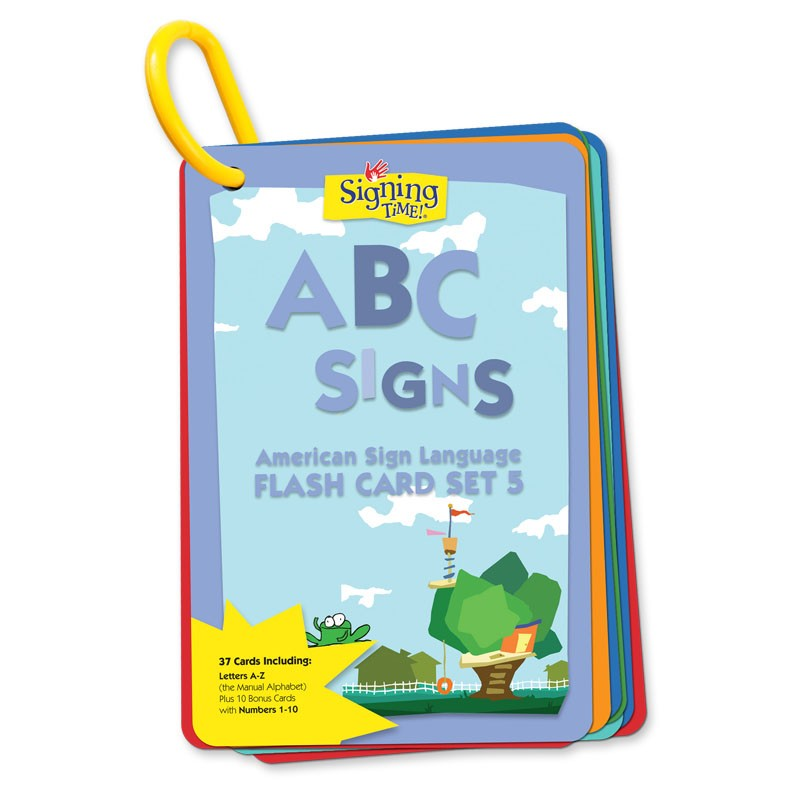 Flash Card Set 5: ABC Signs