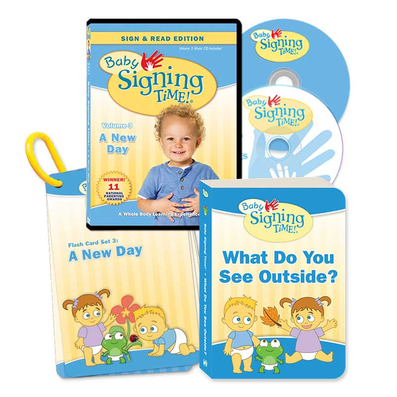 Baby Signing Time Vol. 3 Clearance Set