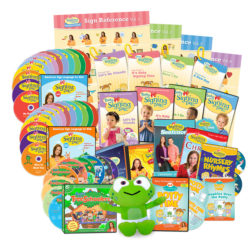 Two Little Hands Complete Learning System (Library Edition)