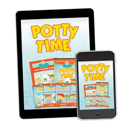 Potty Time Potty Training System (Digital Download) ASL, Sign Language, Baby Sign Language, Kids ASL, Kids Sign Language, American Sign Language