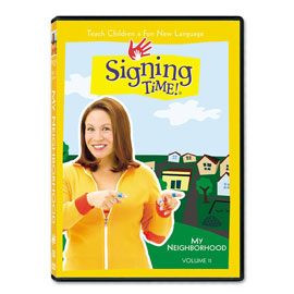Series One Vol. 11: My Neighborhood - DVD ASL, Sign Language, Baby Sign Language, Kids ASL, Kids Sign Language, American Sign Language