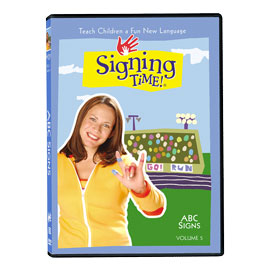 Series One Vol. 5: ABC Signs - DVD ASL, Sign Language, Baby Sign Language, Kids ASL, Kids Sign Language, American Sign Language