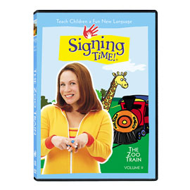 Series One Vol. 9: The Zoo Train - DVD ASL, Sign Language, Baby Sign Language, Kids ASL, Kids Sign Language, American Sign Language