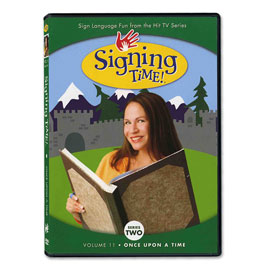 Series Two Vol. 11: Once Upon a Time - DVD ASL, Sign Language, Baby Sign Language, Kids ASL, Kids Sign Language, American Sign Language