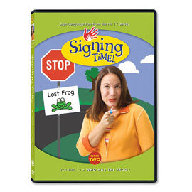 Series Two Vol. 13: Who Has the Frog? - DVD ASL, Sign Language, Baby Sign Language, Kids ASL, Kids Sign Language, American Sign Language