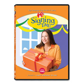 Series Two Vol. 2: Happy Birthday To You - DVD ASL, Sign Language, Baby Sign Language, Kids ASL, Kids Sign Language, American Sign Language