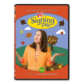 Series Two Vol. 4: My Favorite Season - DVD ASL, Sign Language, Baby Sign Language, Kids ASL, Kids Sign Language, American Sign Language