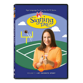 Series Two Vol. 7: My Favorite Sport - DVD ASL, Sign Language, Baby Sign Language, Kids ASL, Kids Sign Language, American Sign Language
