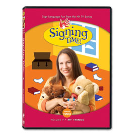 Series Two Vol. 9: My Things - DVD ASL, Sign Language, Baby Sign Language, Kids ASL, Kids Sign Language, American Sign Language