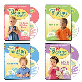 Baby Signing Time 4 Volume DVD Collection ASL, Sign Language, Baby Sign Language, Kids ASL, Kids Sign Language, American Sign Language