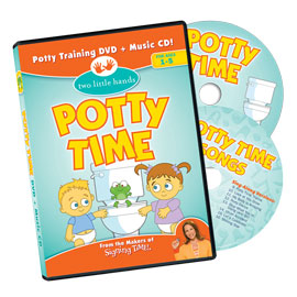 Potty Time - DVD/CD ASL, Sign Language, Baby Sign Language, Kids ASL, Kids Sign Language, American Sign Language