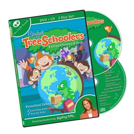 TreeSchoolers 8: Extraordinary Earth - DVD/CD ASL, Sign Language, Baby Sign Language, Kids ASL, Kids Sign Language, American Sign Language