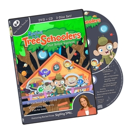 TreeSchoolers 9: Our Solar System - DVD/CD ASL, Sign Language, Baby Sign Language, Kids ASL, Kids Sign Language, American Sign Language