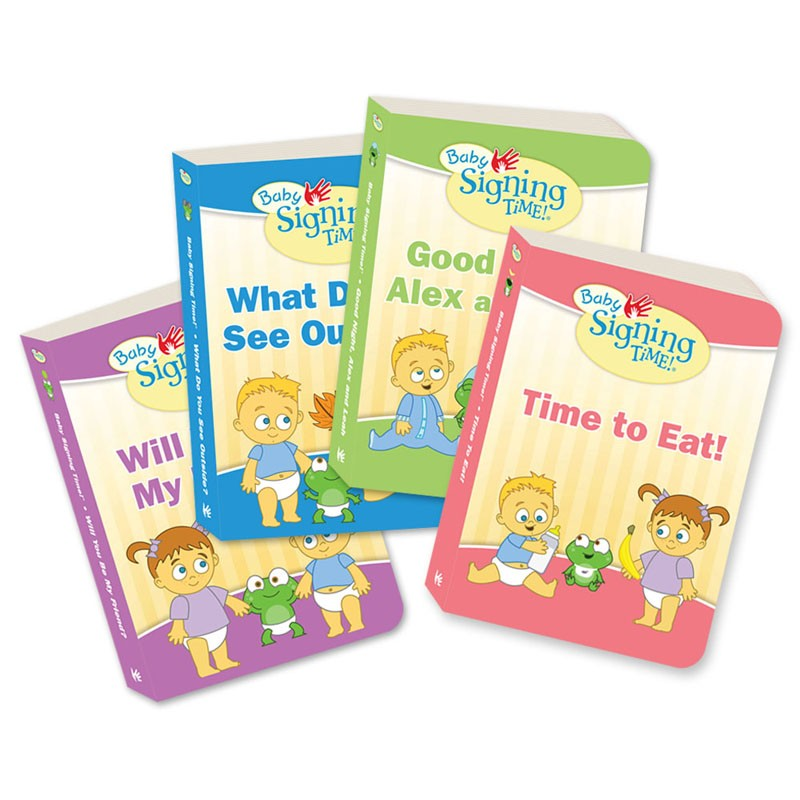 baby signing time books 1 4