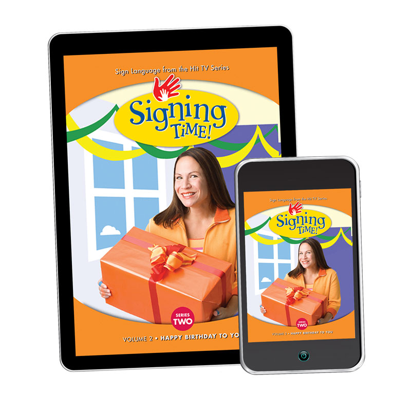 Series Two Vol 2 Happy Birthday To You Asl Digital Download