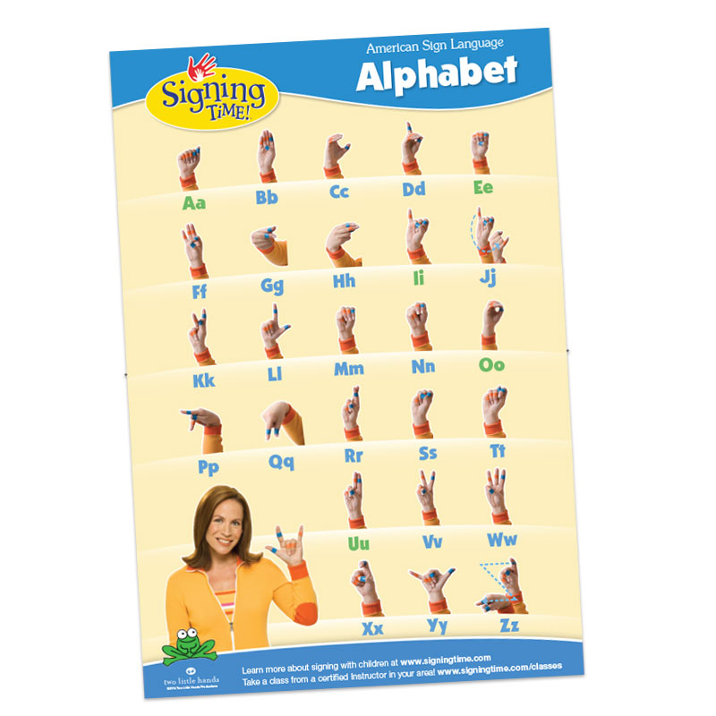 Abc Chart Asl Signs Chart