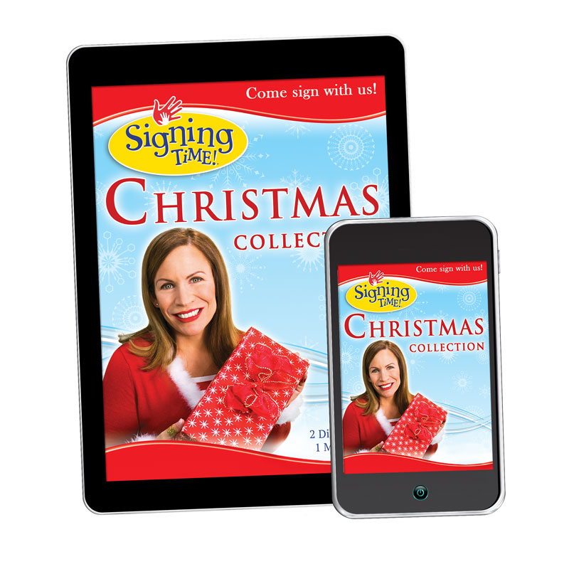 signing time christmas collection asl digital download - Asl Christmas
