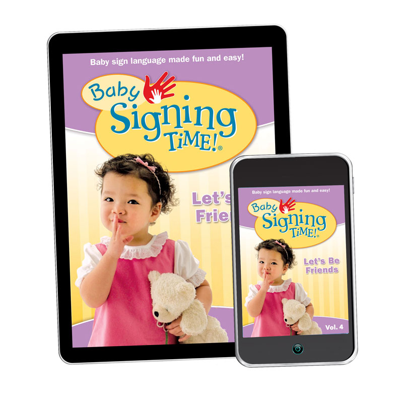 Baby Signing Time 4: Let's Be Friends - Digital Download - 1790