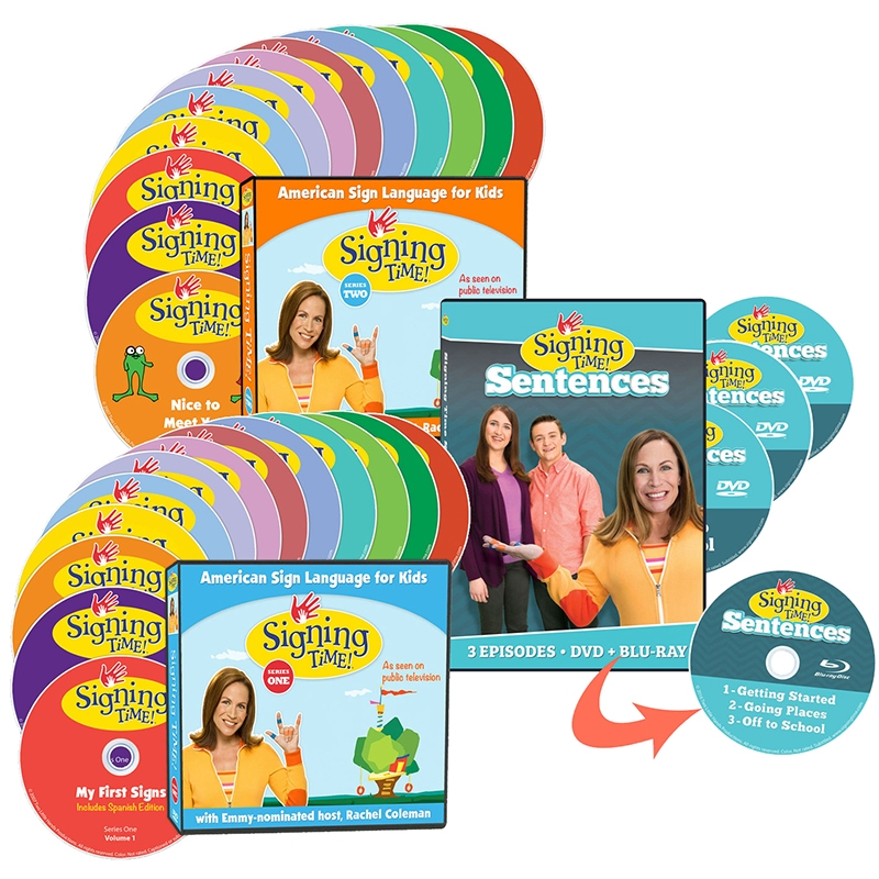 Signing Time Learning System ASL, Sign Language, Baby Sign Language, Kids ASL, Kids Sign Language, American Sign Language