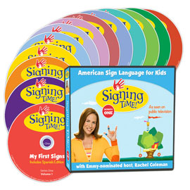 Signing Time Season One Learning System (DVD Edition) ASL, Sign Language, Baby Sign Language, Kids ASL, Kids Sign Language, American Sign Language