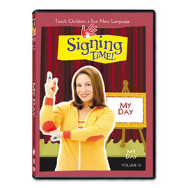 Series One Vol. 10: My Day - DVD ASL, Sign Language, Baby Sign Language, Kids ASL, Kids Sign Language, American Sign Language