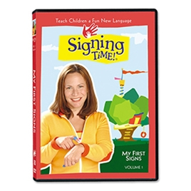 Series One Vol. 1: My First Signs (inc.  Spanish) - DVD  ASL, Sign Language, Baby Sign Language, Kids ASL, Kids Sign Language, American Sign Language