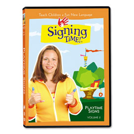 Series One Vol. 2: Playtime Signs (incl. Spanish) - DVD ASL, Sign Language, Baby Sign Language, Kids ASL, Kids Sign Language, American Sign Language