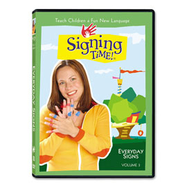 Series One Vol. 3: Everyday Signs (incl. Spanish) - DVD ASL, Sign Language, Baby Sign Language, Kids ASL, Kids Sign Language, American Sign Language