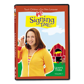 Series One Vol. 7: Leah's Farm - DVD ASL, Sign Language, Baby Sign Language, Kids ASL, Kids Sign Language, American Sign Language