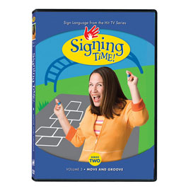 Series Two Vol. 3: Move and Groove - DVD ASL, Sign Language, Baby Sign Language, Kids ASL, Kids Sign Language, American Sign Language
