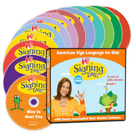 Signing Time DVD Eco-Pack: Series Two - (DVD Edition) ASL, Sign Language, Baby Sign Language, Kids ASL, Kids Sign Language, American Sign Language