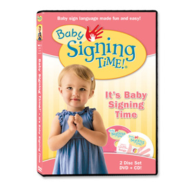 Baby Signing Time 1: It's Baby Signing Time - DVD/CD ASL, Sign Language, Baby Sign Language, Kids ASL, Kids Sign Language, American Sign Language