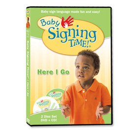 Baby Signing Time 2: Here I Go - DVD/CD ASL, Sign Language, Baby Sign Language, Kids ASL, Kids Sign Language, American Sign Language