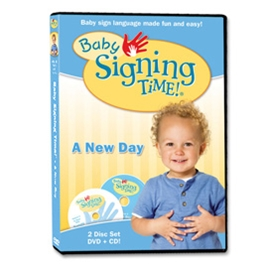 Baby Signing Time 3: A New Day - DVD/CD ASL, Sign Language, Baby Sign Language, Kids ASL, Kids Sign Language, American Sign Language