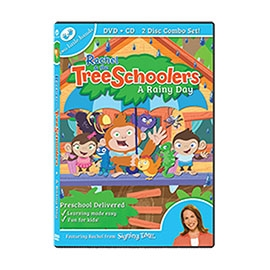 TreeSchoolers 1: A Rainy Day - DVD ASL, Sign Language, Baby Sign Language, Kids ASL, Kids Sign Language, American Sign Language