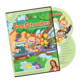 TreeSchoolers 2: Plants and Flowers - DVD/CD ASL, Sign Language, Baby Sign Language, Kids ASL, Kids Sign Language, American Sign Language